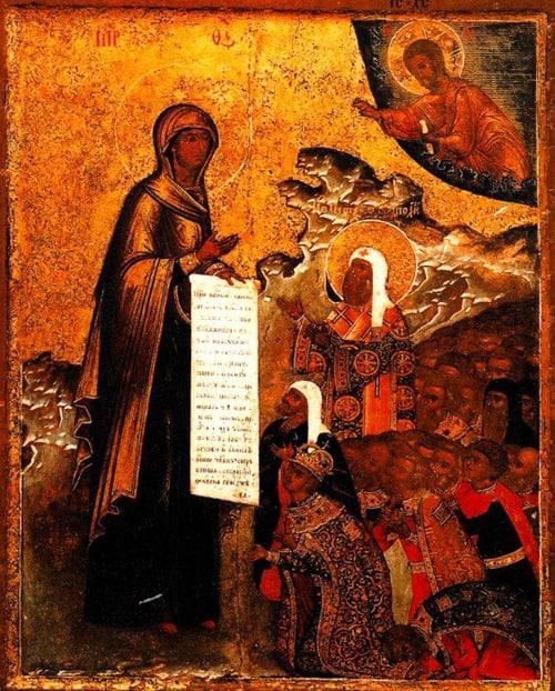 Церковь чтит память Боголюбской иконы Божией Матери