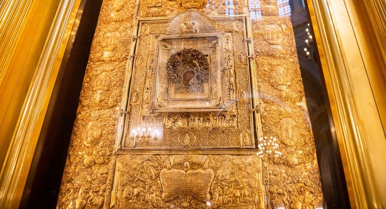 Церкви вернули исторический оклад Казанской иконы Божией Матери