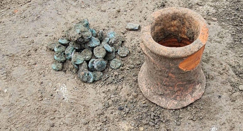Клад VI века подтвердил наличие в Фанагории древней христианской епархии