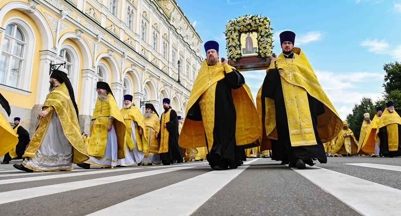 В Москве отменен крестный ход на день Крещения Руси