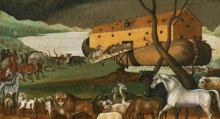Американский археолог предположил, что Ноев ковчег на самом деле был построен в виде ящика с ножками