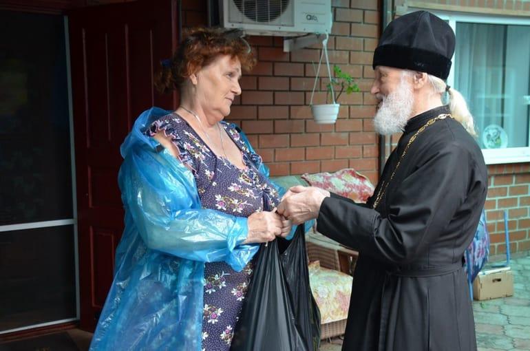 Русская Церковь помогает пострадавшим от ливней и подтопления жителям Кубани