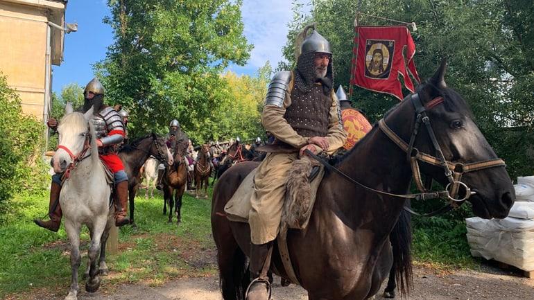 Конница Александра Невского дошла до Торжка