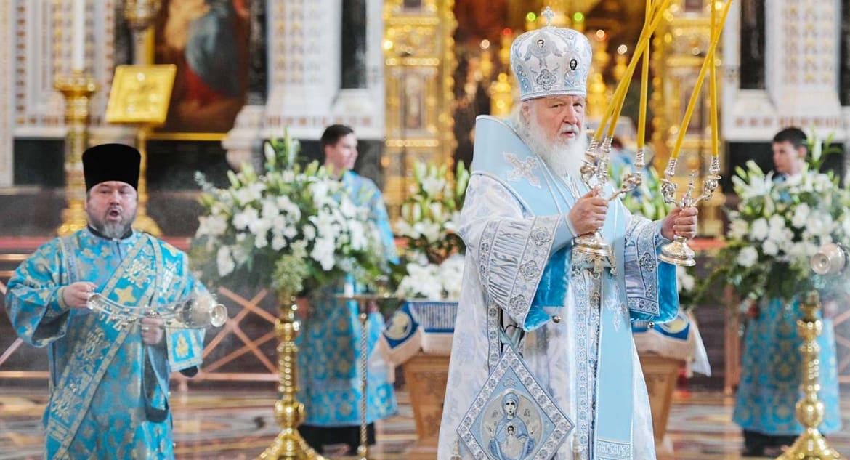Патриарх Кирилл назвал греховным сослужение патриарха Варфоломея с украинскими раскольниками