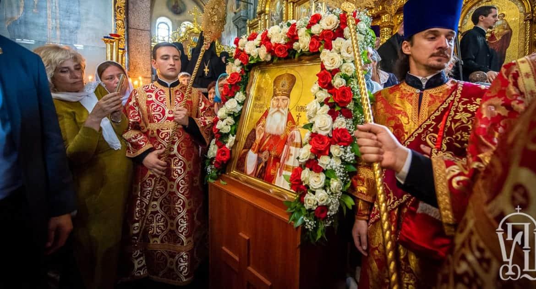 В Житомирской епархии прославили в лике святых архиепископа Евмения (Хорольского)