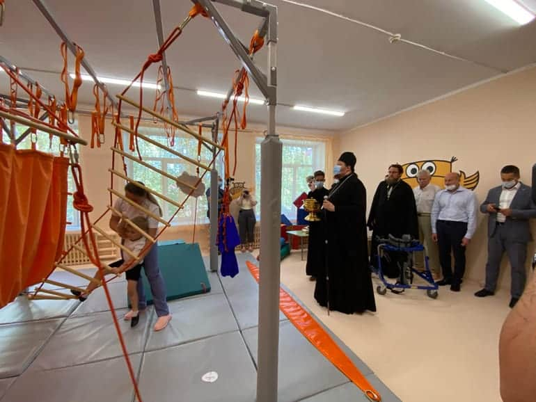 Епархия передала комбинированному садику в Златоусте комплекс для реабилитации детей