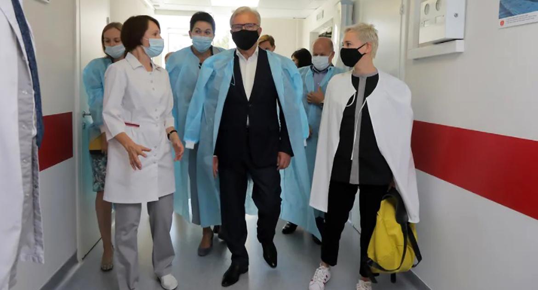Чулпан Хаматова дала старт строительству первого за Уралом центра детской трансплантологии