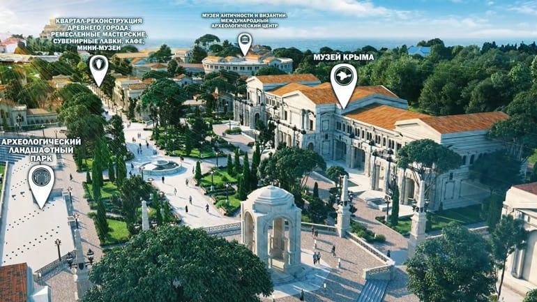 Освящен закладной камень на месте будущего историко-археологического парка «Херсонес Таврический»