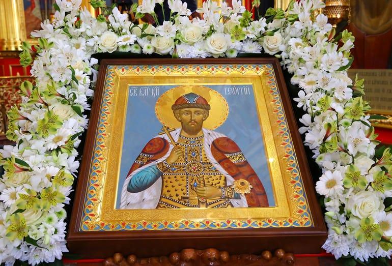 В Нижнем Новгороде освятили храм в честь основателей города
