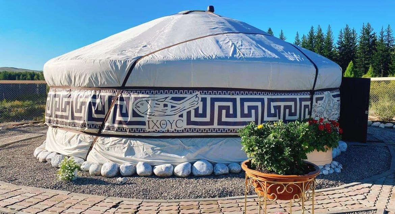 Храм-юрту в честь блаженной Матроны Московской открыли в Туве