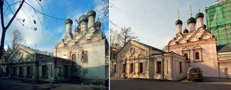 Расписывали ли храмы после революции?