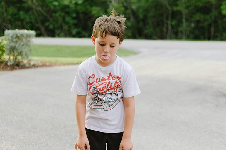 Что делать, если ребенок семи лет огрызается?