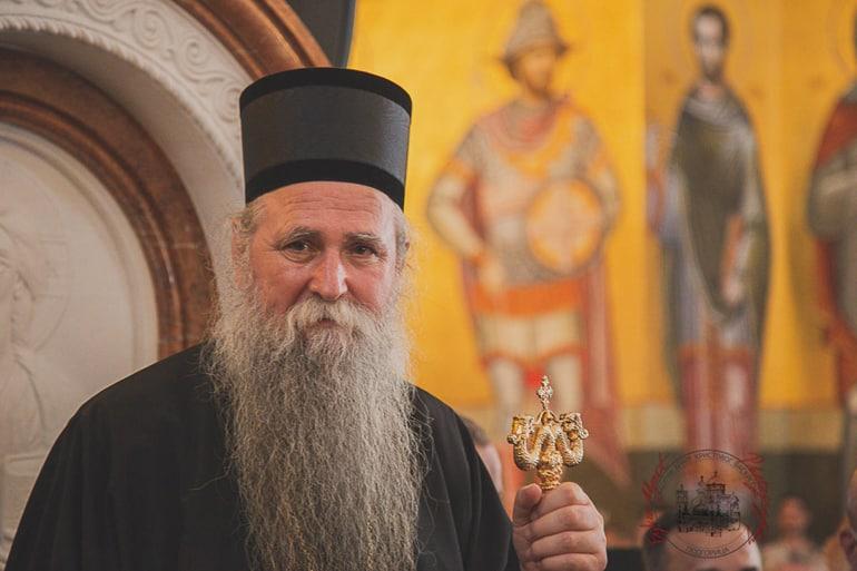 Патриарх Кирилл поздравил сербского митрополита Иоанникия, возглавившего Черногорскую митрополию