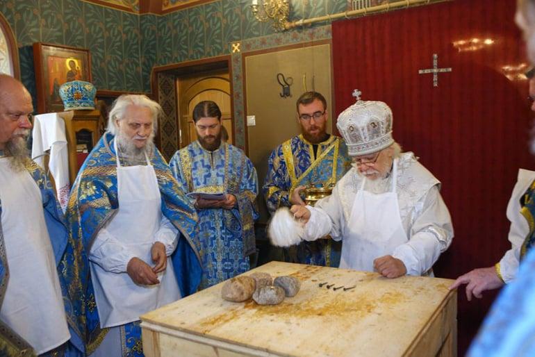 Освящен главный храм церковной больницы святителя Алексия Московского