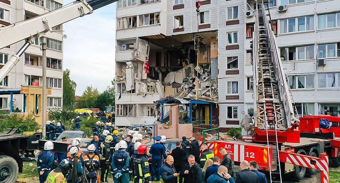 При взрыве газа в жилом доме в Ногинске есть погибшие и пострадавшие