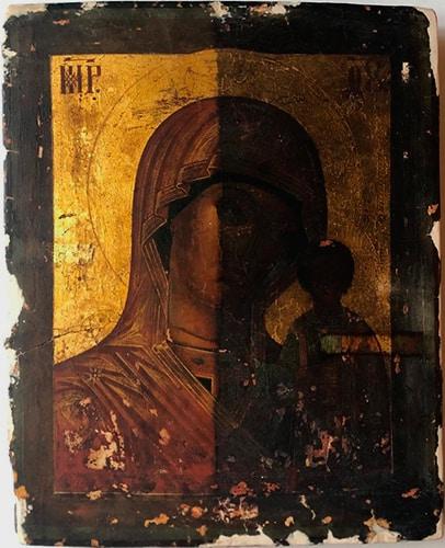 Три иконы космонавта Леонова: первую от него спрятали, вторая открывала двери и летала в космос, третью он написал сам