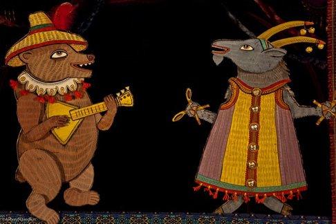 Традиции Масленицы от театра «Ученый медведь»