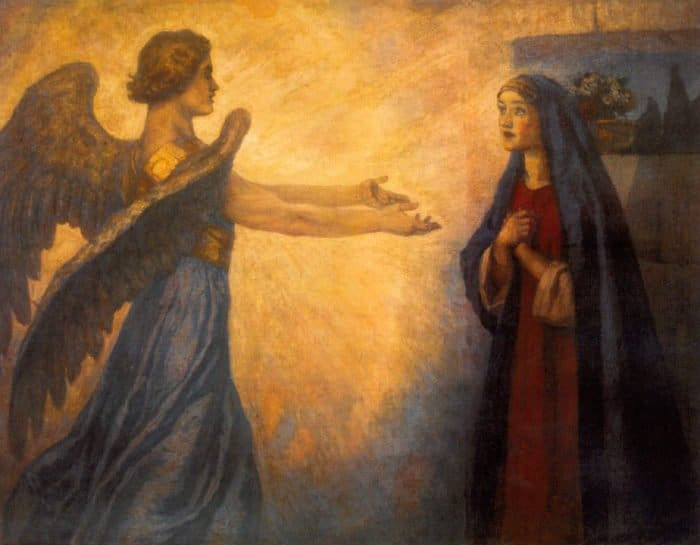 История Благовещения
