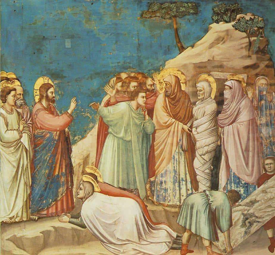 Воскрешение праведного Лазаря Джотто