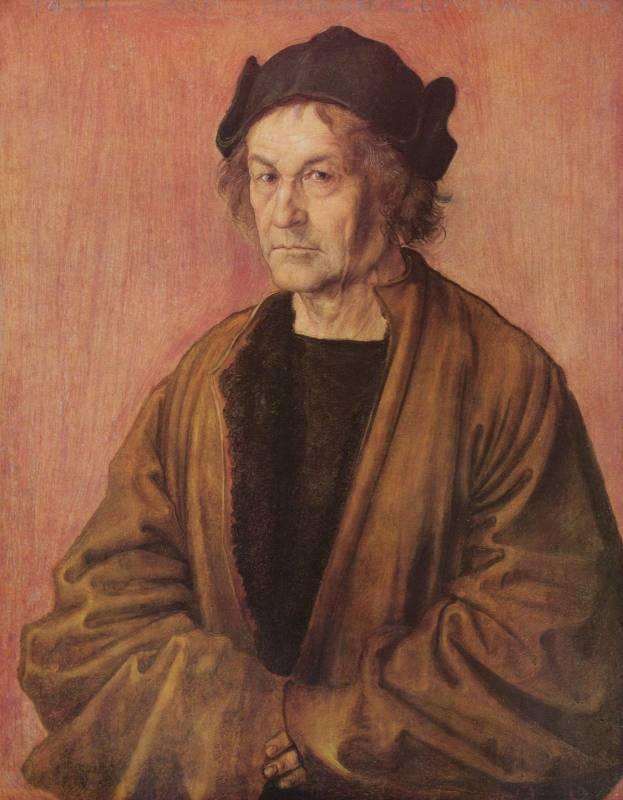 Альбрехт Дюрер. Портрет отца.