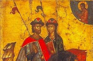 Перенесение мощей святых благоверных князей Бориса и Глеба