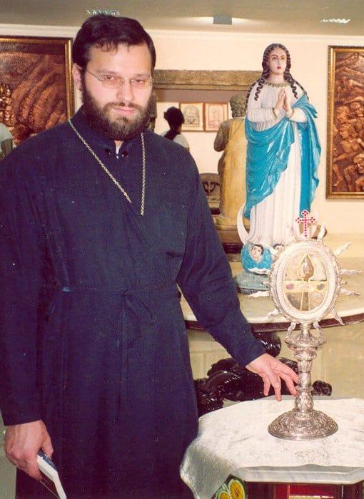 Реликварий с копием, которым был убит апостол
