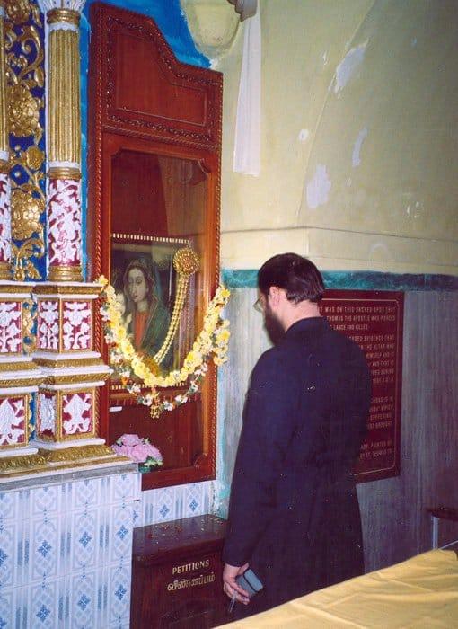Икона Богородицы, написанная апостолом Лукой. Принесена в Индию апостолом Фомой