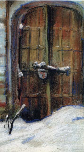 Святочный рассказ: Последнее окно