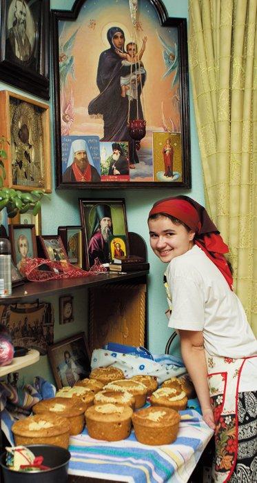 Пасха в московской семье