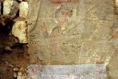 В Египте найдено предположительно одно из древнейших коптских изображений Иисуса Христа