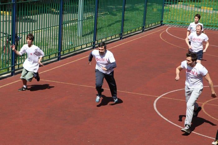 Команда «Фомы» сыграла в футбольном турнире