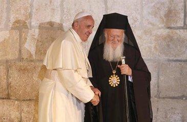 Патриарх Константинопольский Варфоломей и Папа Римский Франциск подписали совместную декларацию