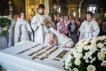 В 24-годовщину интронизации патриарха Алексия II в Москве почтили его память