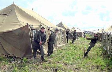 В Сергиевом Посаде разворачивают палаточный городок для паломников