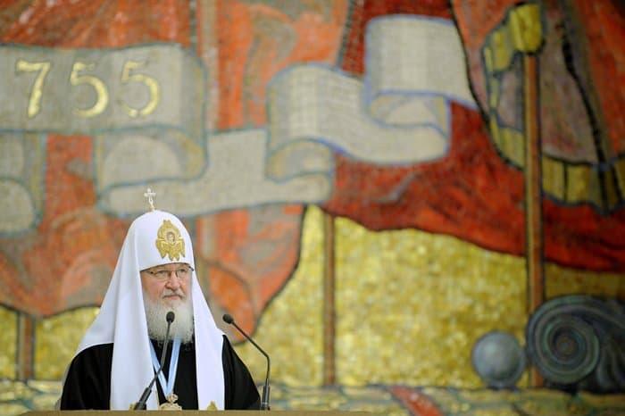 Патриарх в МГУ: о России, Западе, Церкви и государстве