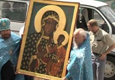 В Польше вандал попытался осквернить Ченстоховскую икону Божией Матери