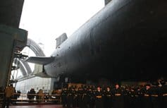 В Северодвинске освятили походный храм для атомной подводной лодки