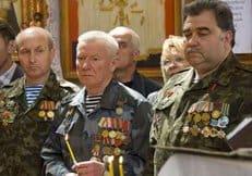 Ветераны-десантники передадут Церкви икону, пронесенную через Афганистан