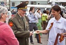 В День Победы православная молодежь Москвы поздравит ветеранов