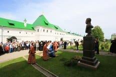 В нижегородском монастыре открыли памятник императору Александру II