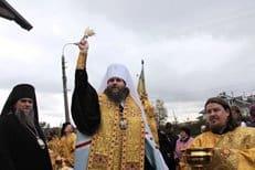 В Архангельске восстановили спиленный поклонный крест