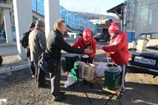 Автопробег в помощь бездомным завершился в России
