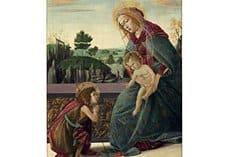 В Москву впервые привезут картину Боттичелли «Богоматерь с младенцем Христом»