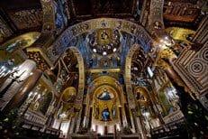 В Палатинской капелле Палермо совершена православная Божественная Литургия