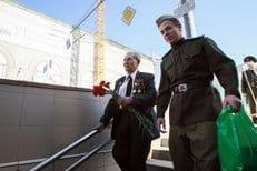 Православная молодежь столицы поздравила ветеранов с Днем Победы