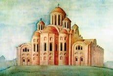В Десятинной церкви Киева обнаружены клады татаро-монгольского периода