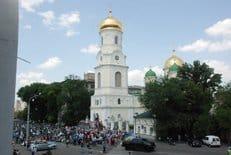 Крестный ход с частицей мощей князя Владимира посетил Днепропетровск