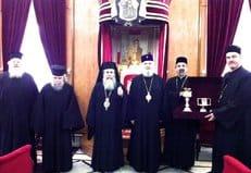 Иерусалимская и Румынская Православные Церкви восстановили евхаристическое общение