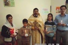 Семья из Ирана приняла православную веру