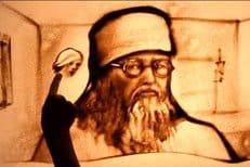Украинская художница сделала песочный фильм про святителя Луку (Войно-Ясенецкого)